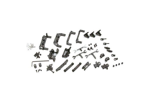 R/C EP TOURING CAR MINI-Z AWD REAR DOUBLE WISHBONE SUSPENSION SET (for MA-010) MDW100