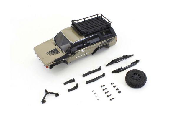 MX-01 トヨタ 4ランナー アクセサリーパーツ付サンドイエロー MXB04SY