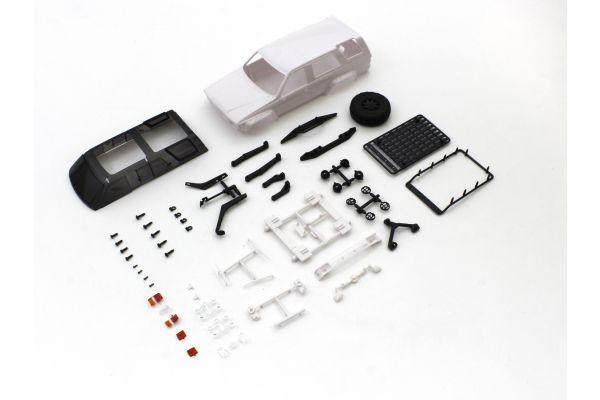 トヨタ 4ランナー アクセサリーパーツ付 ホワイトボディセット MXN04