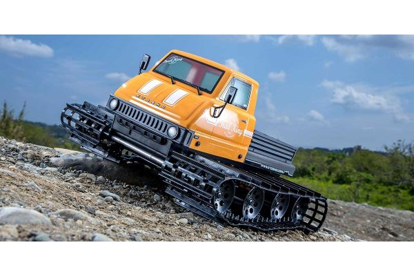 1/12 Scale EP Belt Vehicle Readyset Trail King Color Type 1 Yellow 34903T1