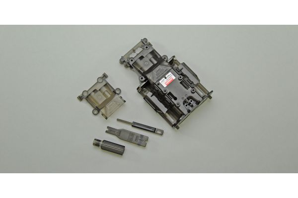 Skelton Main Chassis Set(Clear-Gray/MR-0 MZF401CG