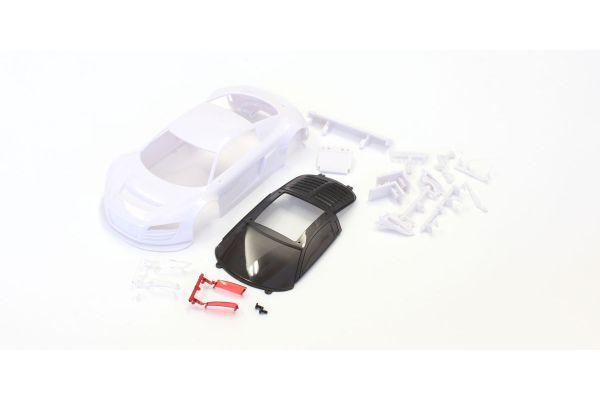 アウディ R8 ホワイトボディセット MZN139