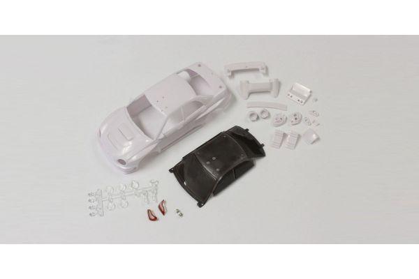 SUBARU IMPREZA WRC2002 White body set MZN176