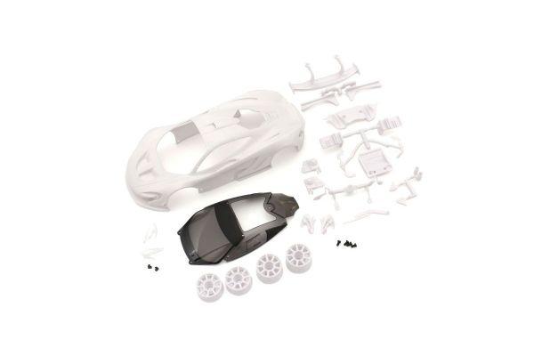 マクラーレン P1 GTR ホワイトボディセット(未塗装/ホイール付) MZN190