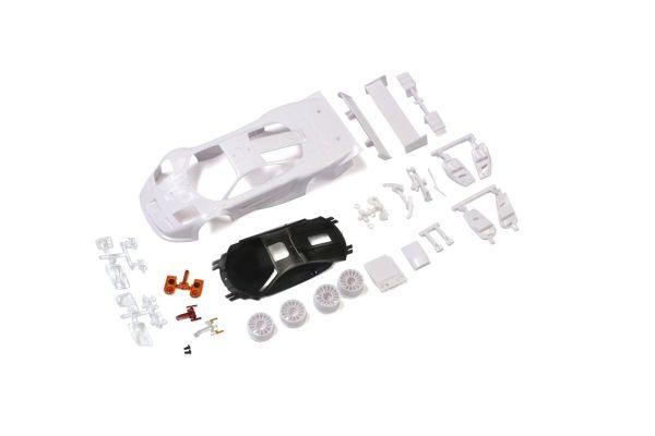 マクラーレン F1 GTR ホワイトボディセット(未塗装/ホイール付) MZN192
