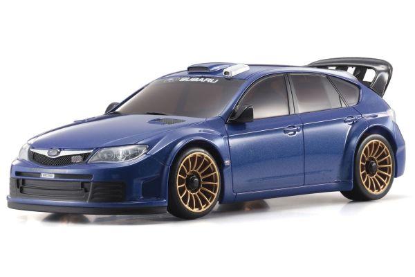 AutoScale SUBARU IMPREZA WRC2008 Plain Color Version Blue Metallic MZP414MB