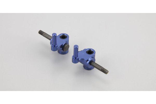 MR-02 Aluminum Knuckle Arm(#1/Blue) MZW212-1