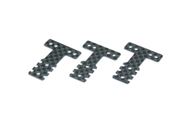 Carbon Rear Suspension Plate Set(MM/LM MZW403