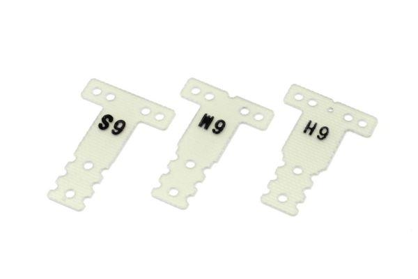 FRP Rear Sus. Plate Set(0.6/MR03RM/HM) MZW438