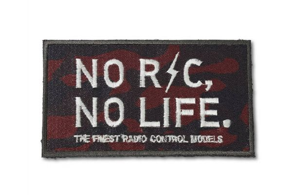 【オンライン限定】NO RC NO LIFE パッチ(レッドカモフラ)雄ベルクロ付き ONF903