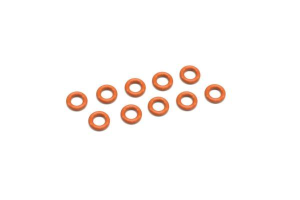Silicone O-Ring(P3/Orange) 10Pcs ORG05