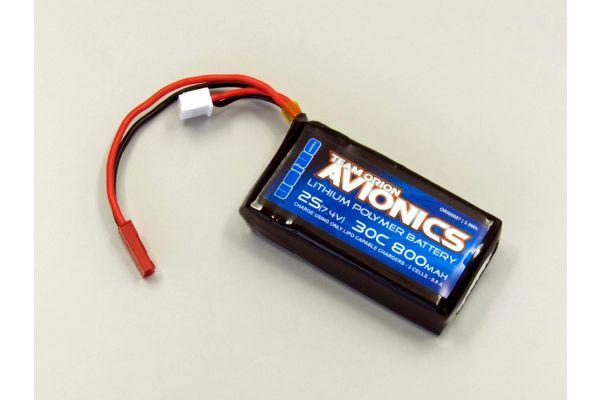 Avionics LiPo 800 7.4V (30C) w/BEC plug ORI60087