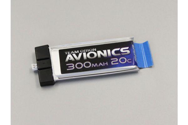 アビオニクス LiPo 300 3.7V(20C)コネクター一体型  ORI60101