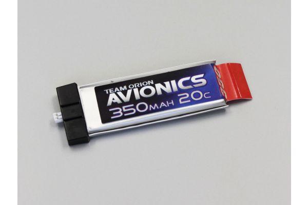 アビオニクス LiPo 350 3.7V(20C)コネクター一体型  ORI60102