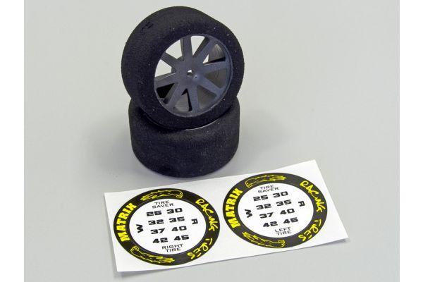 Foam Tyres 1:10 30mm - 35 Shore ORI76201