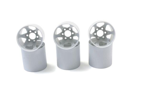 Rear Wheel (White/6pcs) PZ302-6W