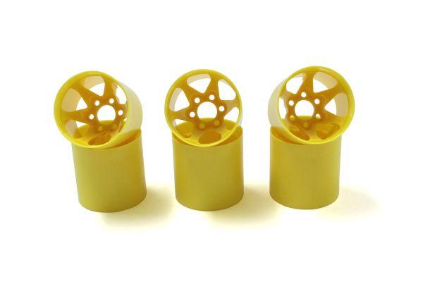 Rear Wheel (Yellow/6pcs) PZ302-6Y
