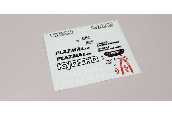 ドライバー人形デカール(PLAZMA Lm) PZD203
