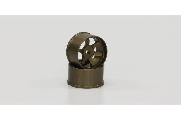 RAYS TE37 アルミホイール ワイド オフセット0mm ブロンズ  R246-1481