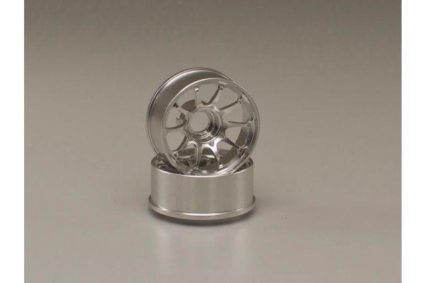 CE28N Wheel N-17mm Off-Set 2.0mm Silver R246-1772