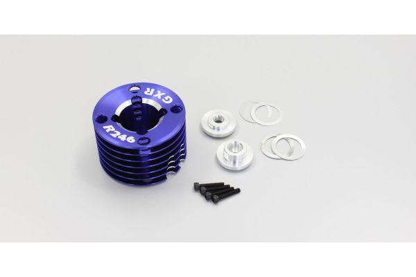 SPクーリングヘッド ノーマル&ターボインナー GXR15用 ブルー  R246-4009