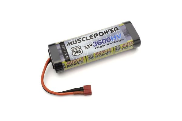 MUSCLE POWER 3600HV Ni-MH Battery R246-8454