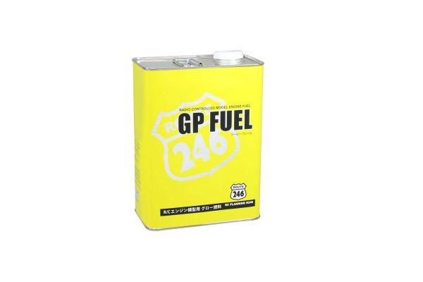 GPフュール カー用 4L缶 ニトロ25% オイル12%  R246-8613