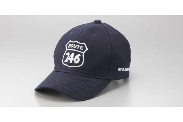 ROUTE246 刺繍キャップ ネイビー フリーサイズ R246S-CAP