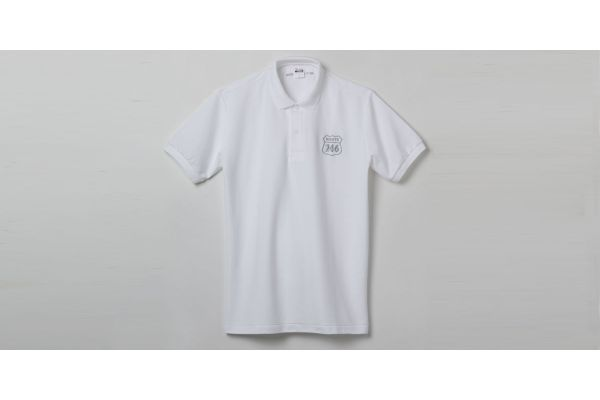 ROUTE246 ポロシャツ ホワイト LLサイズ  R246S-PS-W-LL