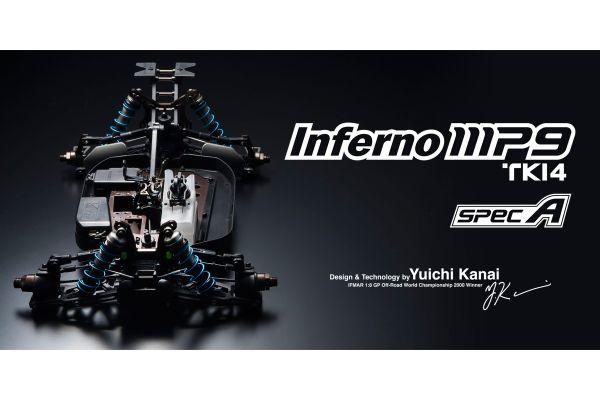 インファーノ MP9 TKI4 スペックA  1/8 21エンジン 4WD 33007