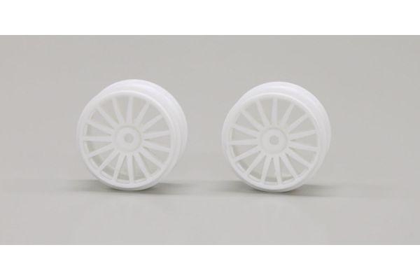 Wheel (15-Spoke/White/2pcs/DRX/GT46) TRH121W