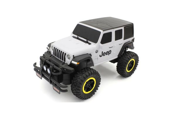 1/16 Jeep Wrangler Unlimited(艶消しホワイト&ブラック)TU002BW