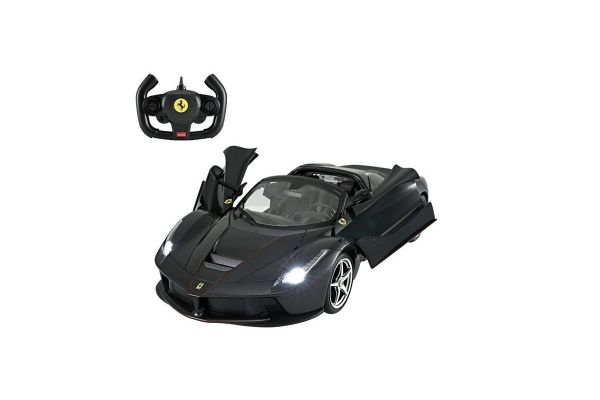 RASTAR 1/14 ラ フェラーリ アペルタ ブラック (手動開閉ドア&ドリフト)TX002BK