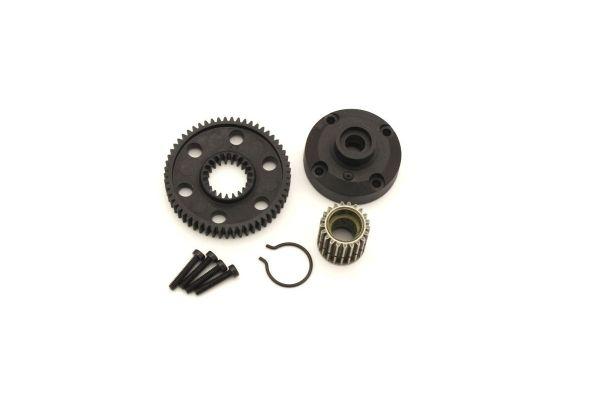 Diff Gear Case & Pulley (ULTIMA) UT008