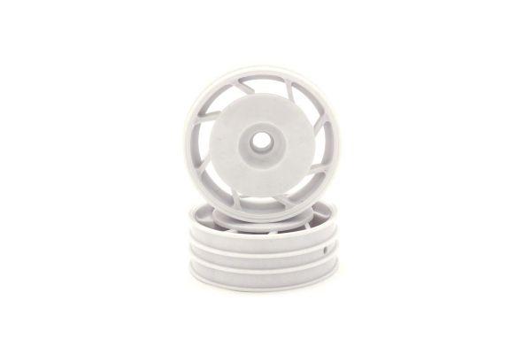 8D Front Wheel 50mm (White/2pcs/Ultima) UTH001WT
