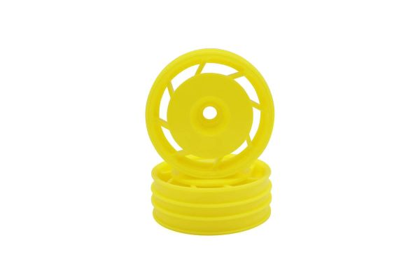 8D Front Wheel 50mm (Yellow/2pcs/Ultima) UTH001Y