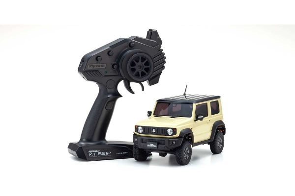 Radio Controlled Electric Powered Crawling car MINI-Z 4×4 Series Ready Set Suzuki Jimny Sierra Chiffon Ivory Metallic 32523IV