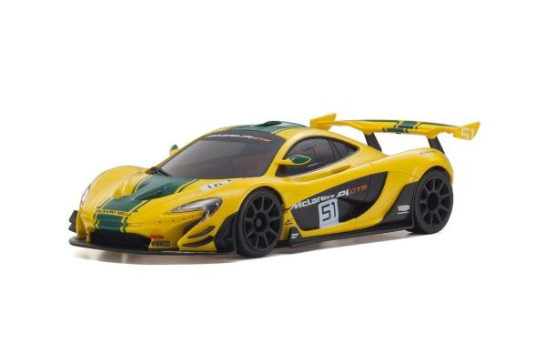 ASC MR03RWD McLaren P1™ GTR Yellow/Green MZP235YG