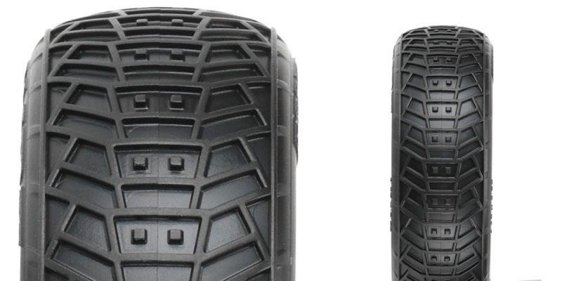 Off-Road Buggy Tires 2 Pro-Line Front Transistor 2.2 2wd M4 Super Soft