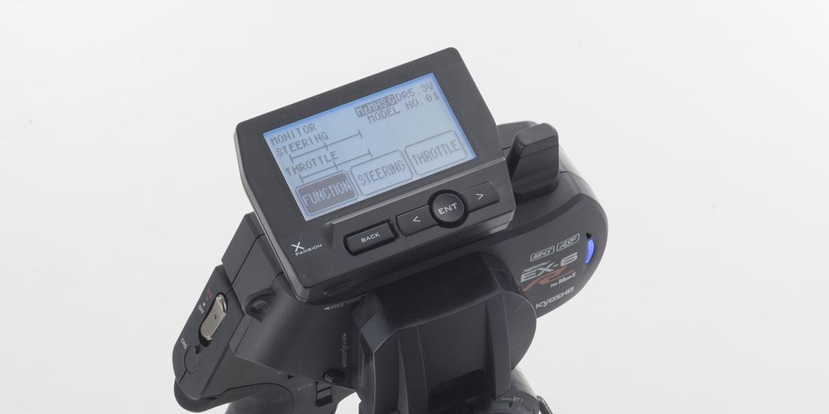 ASF コンパチブル 2.4GHzシステム送信機 Syncro EX-6R 82031 MHS/ 京商