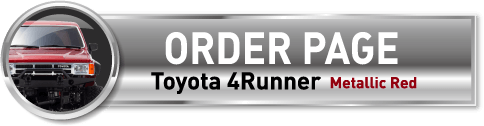 ORDR PAGE Toyota 4Runner Metallic Red