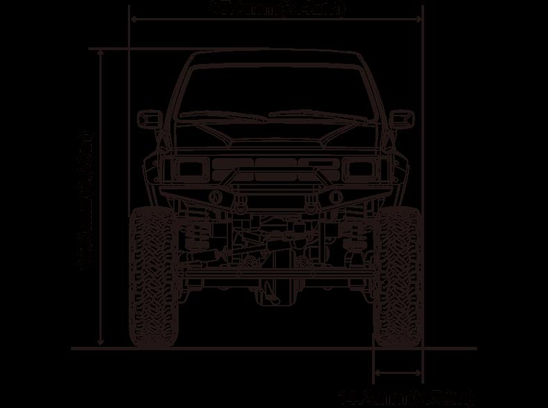 Mini Z 4 4 Readyset Toyota 4runner Hilux Surf Kyosho Rc