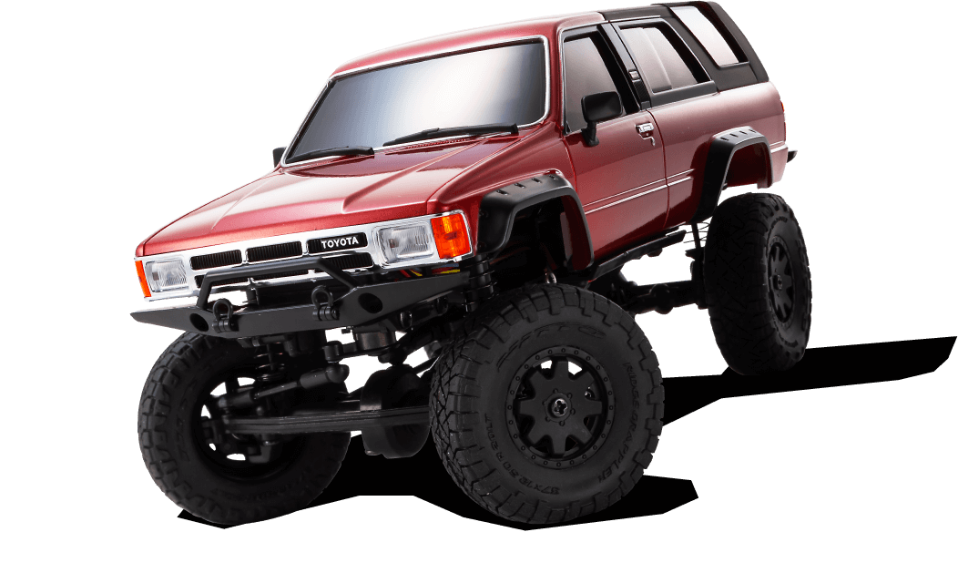 Toyota 4Runner Metallic Red