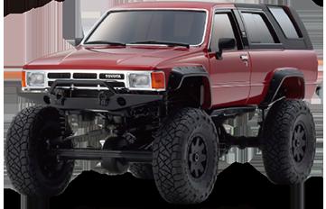 Toyota 4Runner Metallic Red