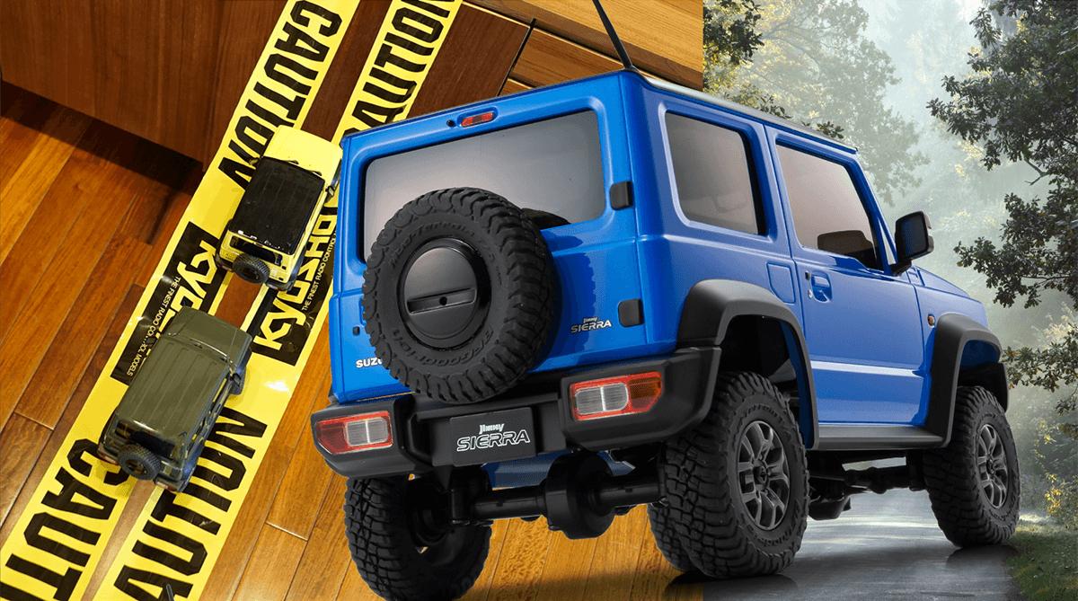 SUZUKI Jimny Sierra | Brisk Blue Metallic