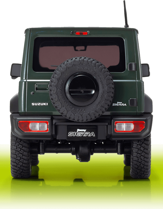 SUZUKI Jimny Sierra | Jungle Green