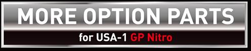 MORE OPTION PARTS for USA-1 GP Nitro