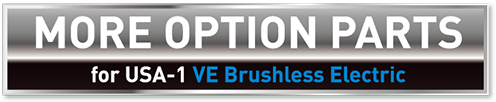 MORE OPTION PARTS for USA-1 VE Brushless Electric