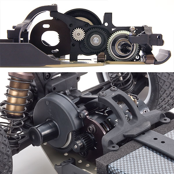 ULTIMA RB7 chassis gear box